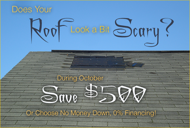 October Scary Roofing Maryland Roofing Contractor S Amp K Roofing Siding And Windows