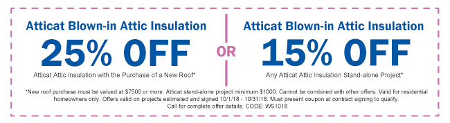 October Insulation Coupon